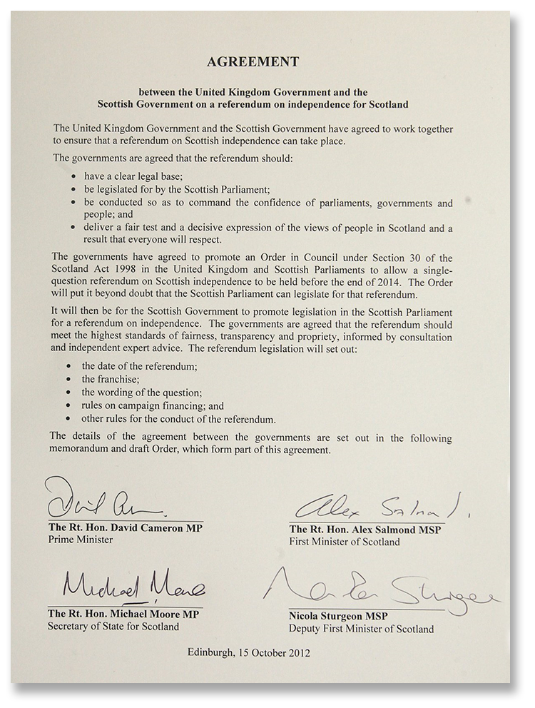 edinburgh agreement