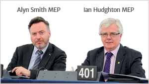 Alyn Smith MEP Ian Hudghton MEP